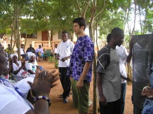 Greg in Ghana